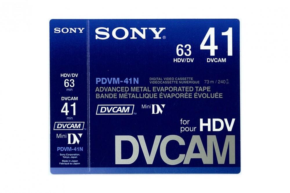 Photo cassette dvcam sony