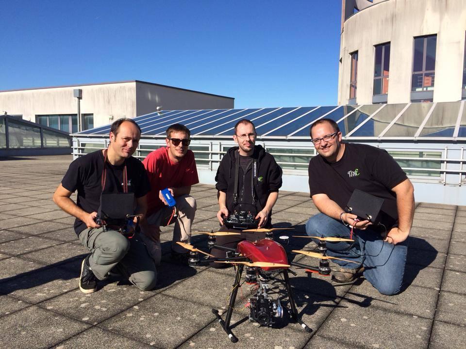 Tournage UTBM - Drone
