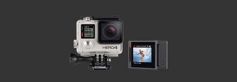 Avec Time Prod, tentez de gagner une GoPro HERO4 Silver !