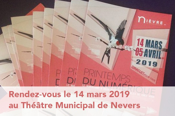 VIDEO 360 - Rendez-vous au printemps du Numérique 2019 à Nevers